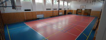 Rekonstrukce podlahy v tělocvičně ZŠ Divišov