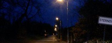 Rekonstrukce veřejného osvětlení ve Šternově