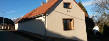 Zateplení obecního domu v Dalovech