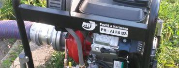 Divišovská jednotka požární ochrany má novou motorovou stříkačku.