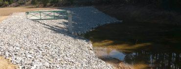 Vodní nádrž Jaruška v Křešicích