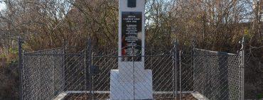 Obnova památníku obětem  1. světové války ve Zdebuzevsi