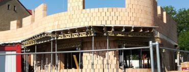Přístavba nové budovy školky